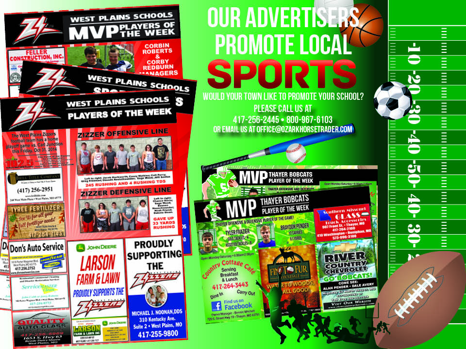 Advertising page for Web Sports pg 10-30-14