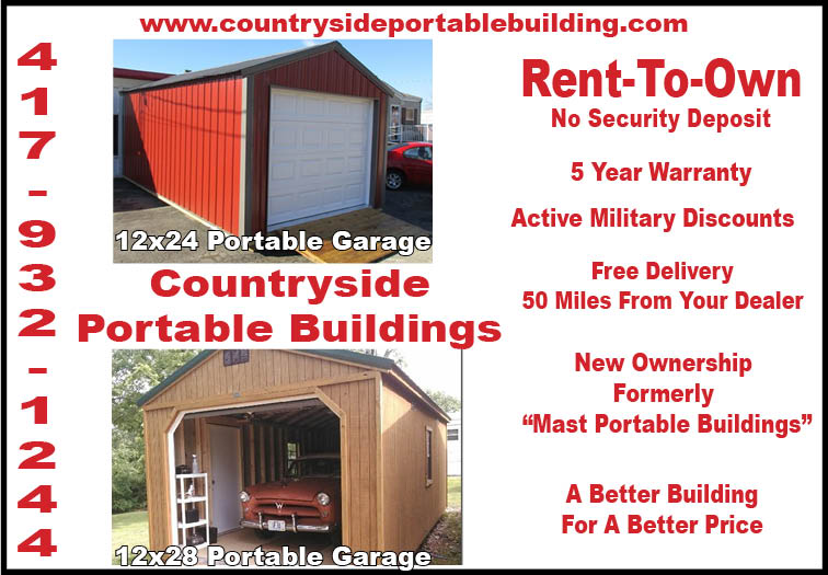 Lovely Countryside Portable Building