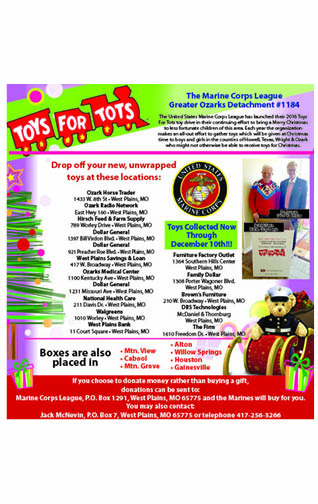 Toys for tots eighth 11-2-17
