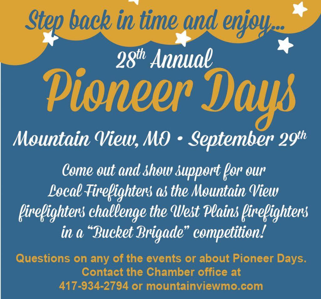 Pioneer Days 9-20-18