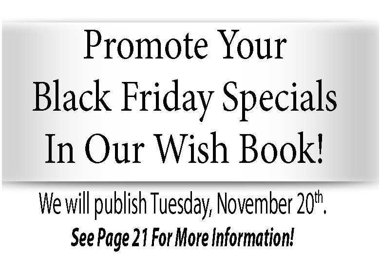 Black Friday Special 10-10-18