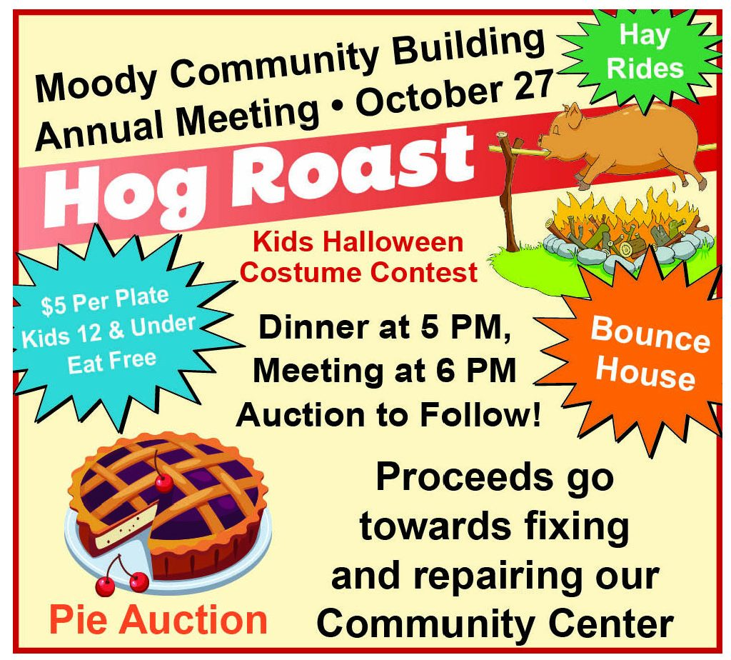 Moody Hog Roast 10-10-18