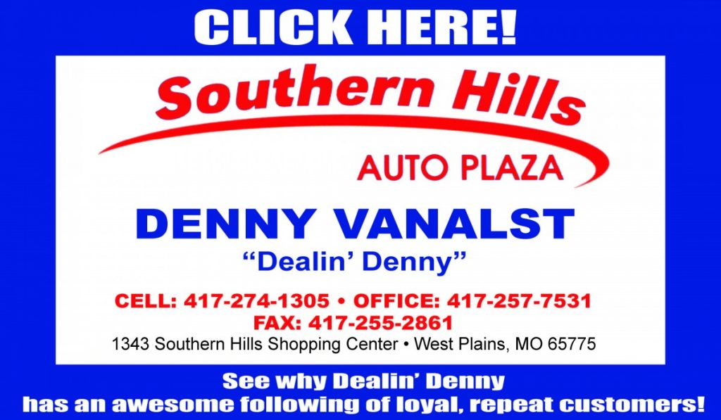 So Hills Auto Denny Vanalst web ad