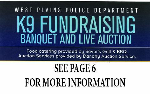 K9 fundraising 5-30-19